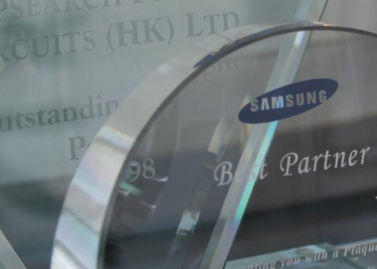 Best Partner Honor from IMS, Sony and Sunsang