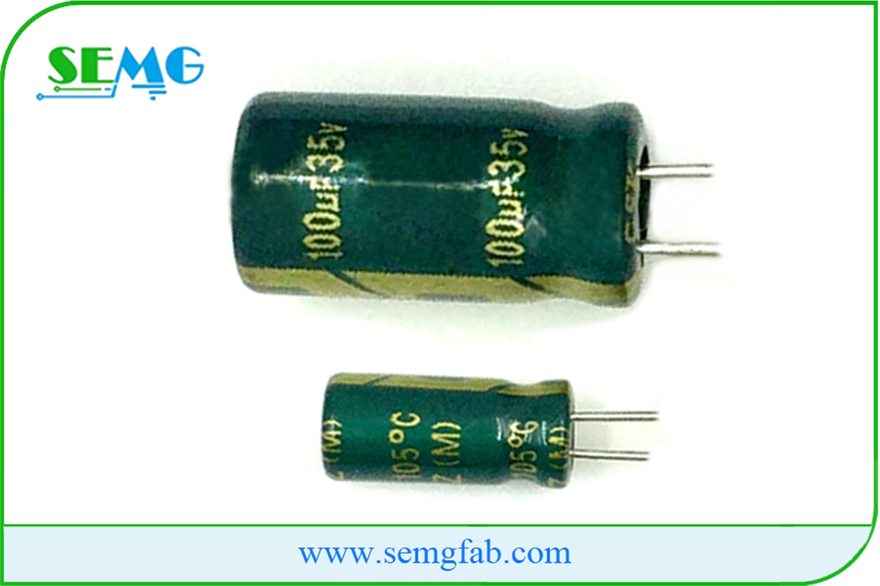 100uF 30V High voltage capacitor